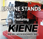 Kiene Diesel Rotating Engine Rebuild Stands
