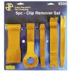 5 Piece Fastener and Molding Remover Set
