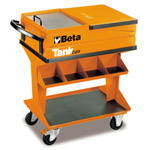 C25-TANK TROLLEY WITH SHELF