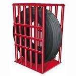 6-Bar Heavy Duty Truck Inflation Cage