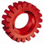 4in Diameter x 1-1/4in Wide RED-TRED Eraser Wheel