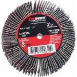 Flap Wheel, 3in x 1in x 1/4in, 80 Grit