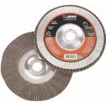 4-1/2in x 5/8in - 11NC Flap Wheel with Hub, 60 Grit