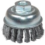 2-3/4in. X-Coarse Knotted End Wire Cup Brush