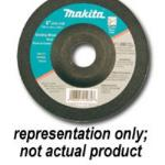 4-1/2in 24 Grit Grinding Wheel - 5 Pack