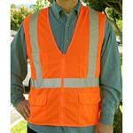 121 Series - 1 Bar Mesh Safety Vest