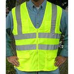 122 Series, 2-Bar Solid Safety Vest