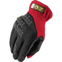FastFit® Gloves, Red, X-Large