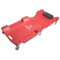 40in  6 - Wheel Plastic Red Creeper