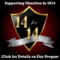 14-for-14 Supporting Charities in 2014