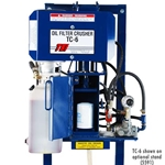 TC-6 Oil Filter Crusher With D-6 Safety Door Switch