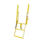 "Swing Down Step 2 Step Double Handle 18"" Wide Adjustable"