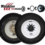 "Minimizer Tire Mask Set 22.5"" - 24.5"" Truck and Bus Hubs"