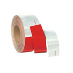11in Red/7in White Conspicuity Tape (2in x 150ft roll)