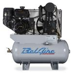 14HP 30 Gallon Gas Compressor Cast Iron Series