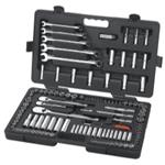 "118 Piece 1/4"" & 3/8"" SAE/MM SOCKET SET"
