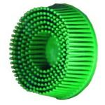 2in Scotch-Brite™ Roloc™ Bristle Discs 50 Grit Coarse Green
