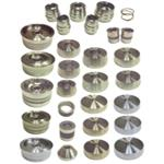 Hub And Hubless Brake Lathe Adapter Kit For Most Car Applications Through 1 Ton Vehicles, 18 Piece Set