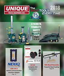 2018 Unique Truck Equipment eCatalog Cover