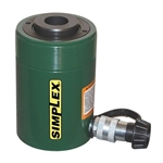 Simplex 30 Ton Single Acting Center Hole Cylinder
