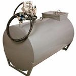300 Gallon Used Oil Tank with Double Diaphragm Pump