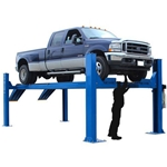 Atlas 14KOF-EXT Open Front Extra Long Alignment Lift 14,000 lb