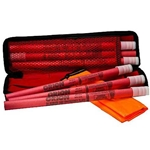Roadside Emergency Flare Kit with Six 30 Minute Flares