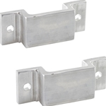 EZ Deck Step Rub Rail Ladder Mounting Brackets