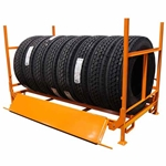Martins Industries Heavy Duty Truck Tire Folding Rack
