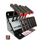 "11 Piece 6"" Series Power-T T-Handle Hex Key Set"