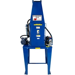 Tire Service Equipment: Automated Filter Crusher