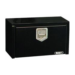 "Black Steel Drop Door Toolbox 18"" x 18"" x 48"""
