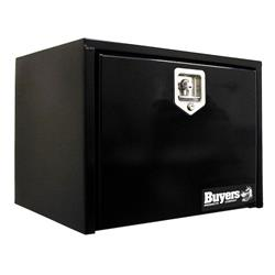 "Black Steel Drop Door Toolbox 14"" x 12"" x 18"""