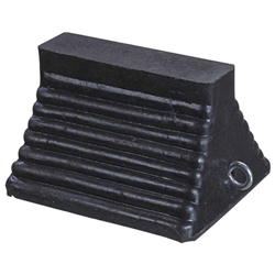 Rubber Wheel Chock With Eye Bolt