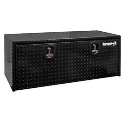 "Black Aluminum Drop Door Toolbox 24"" x 24"" x 48"""