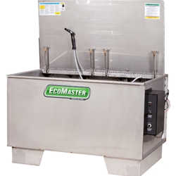 EcoMaster 150 150-Gallon Stainless Heated Agitating Lift Parts Washer