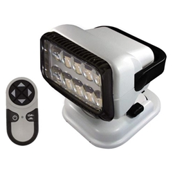GoLight LED Permanent Mount Searchlight w/Wired Dash-Mount Remote