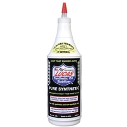 Engine Oil Additives, Synthetic Oil Stabilizer, Case of 12, Quart Size Bottles