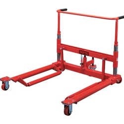 1 Ton Dual Wheel Dolly with Front and Rear Swivel Casters
