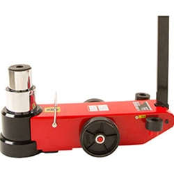 80 / 50 Ton 2 Stage Air / Hydraulic Axle Jack
