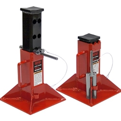25 Ton Cap. Jack Stands - Pin Type - Imported