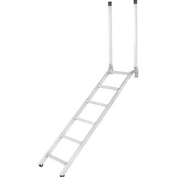 "72"" EZ Deck Step Rub Rail Ladder 54"" to 66"" Deck Height"