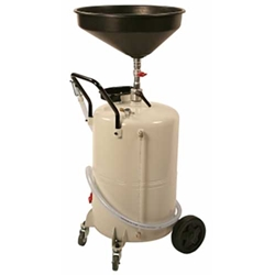 24 Gallon Used Oil Drain with Blowback Safety Feature