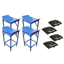 Set of 4 Atlas Wheel Stands