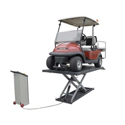 1,200 lb. capacity electric/hydraulic ATV/Golf Car