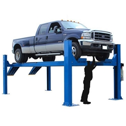 14,000 lb. capacity open front alignment lift
