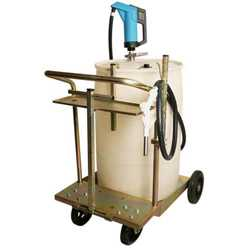 Hand Pump DEF Drum Cart System w/ Ball Valve and Spout