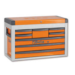 Beta C23SC Portable Tool Chest w/8 Drawers Orange