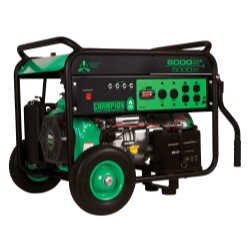 5000/ 6000 Watt Portable LPG Generator with Electric Start