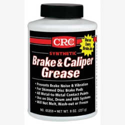 Brake Caliper Synthetic Grease, 8 oz Bottle, 6 per Case